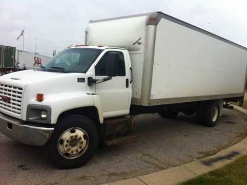 2003 gmc c6500 topkick box truck 26ft with liftgate 9700 hudsonville 8710019440443239770